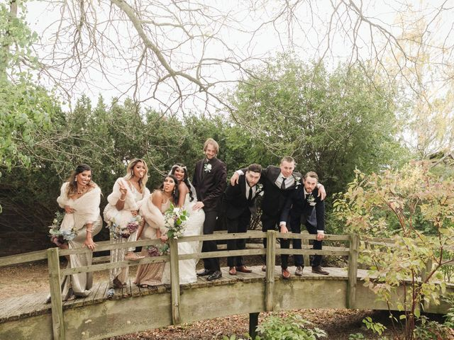 Jordan and Danielle's wedding in Ajax, Ontario 29