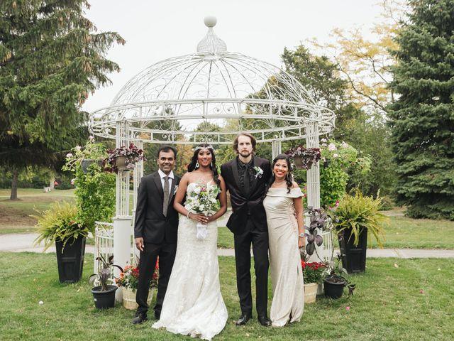 Jordan and Danielle's wedding in Ajax, Ontario 1