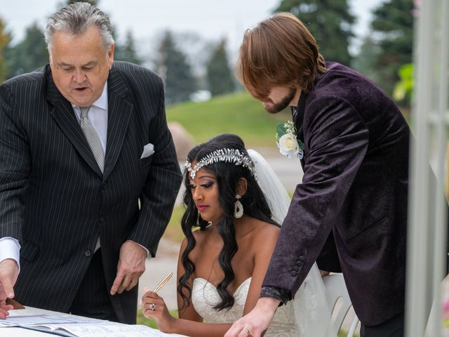 Jordan and Danielle's wedding in Ajax, Ontario 56