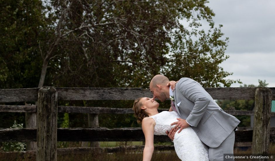 Tyler and Ashley's wedding in Dorchester, Ontario