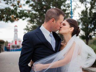 The wedding of Tara and Mike
