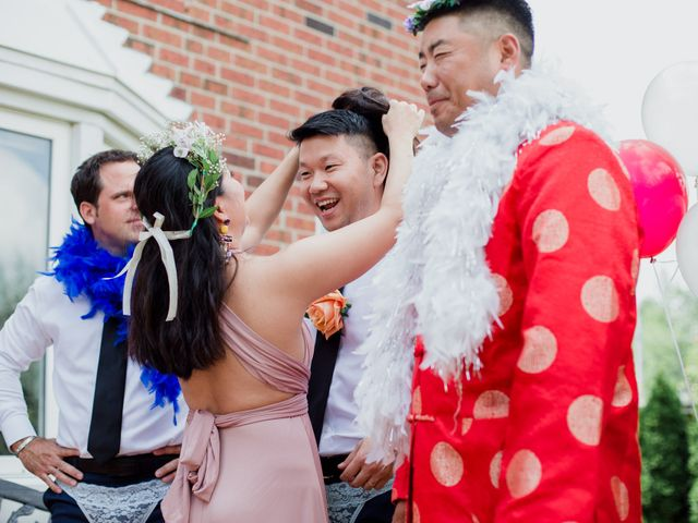 Brian and Val's wedding in Markham, Ontario 8