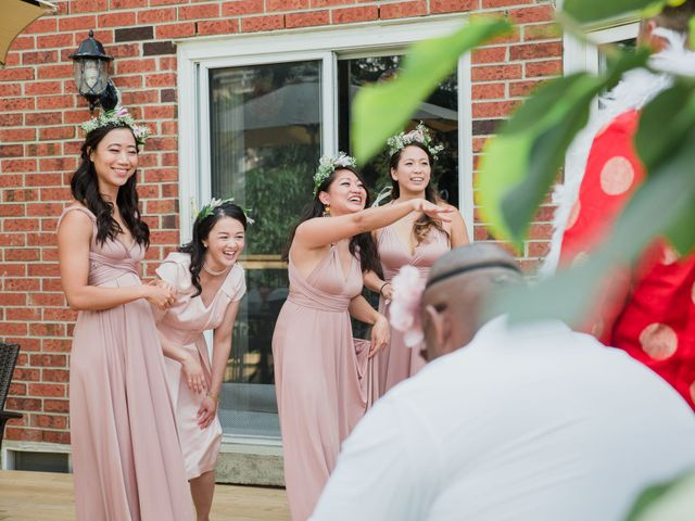 Brian and Val's wedding in Markham, Ontario 10