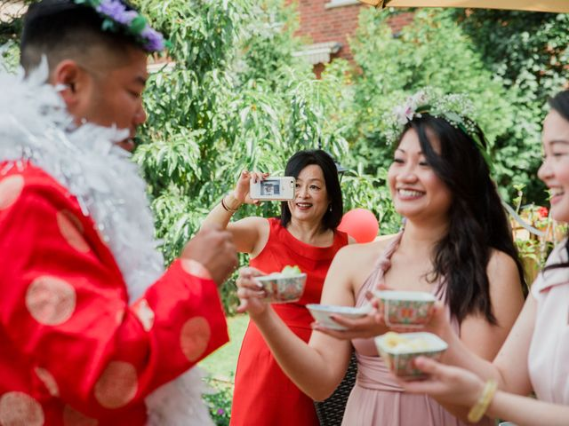 Brian and Val's wedding in Markham, Ontario 12