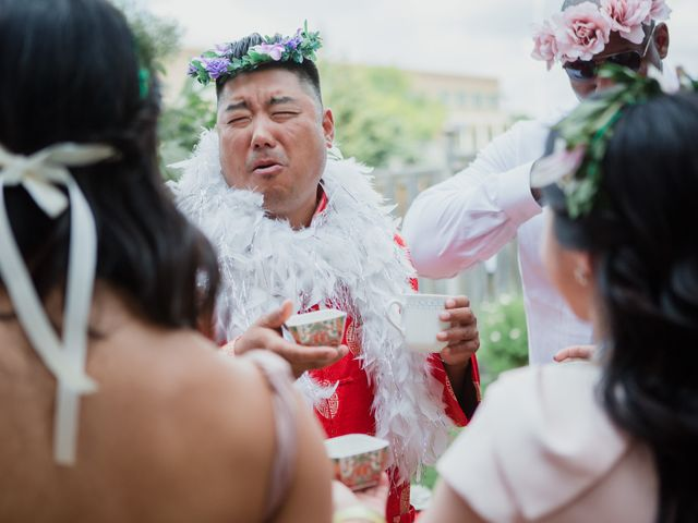 Brian and Val's wedding in Markham, Ontario 13