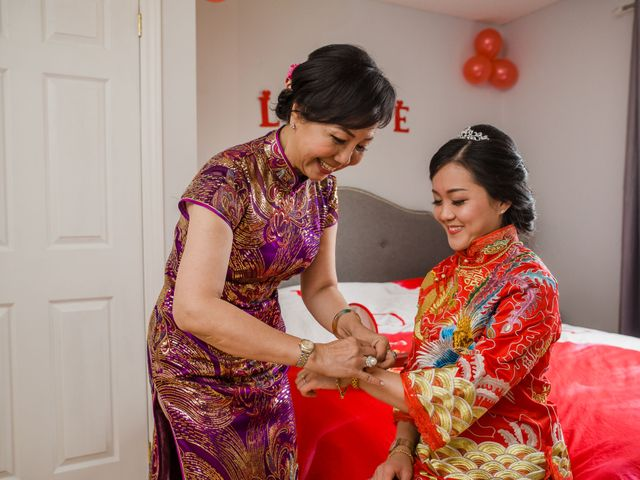 Brian and Val's wedding in Markham, Ontario 18