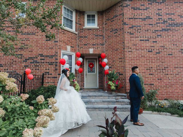 Brian and Val's wedding in Markham, Ontario 27
