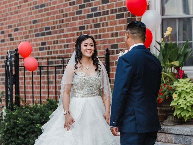 Brian and Val's wedding in Markham, Ontario 28
