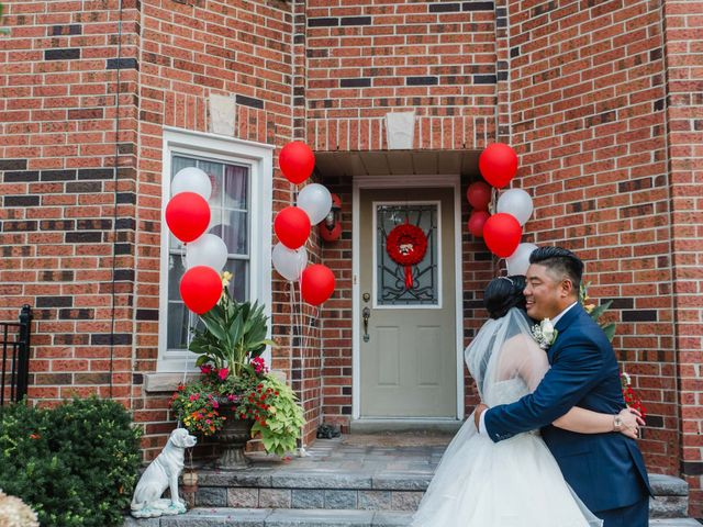 Brian and Val's wedding in Markham, Ontario 29