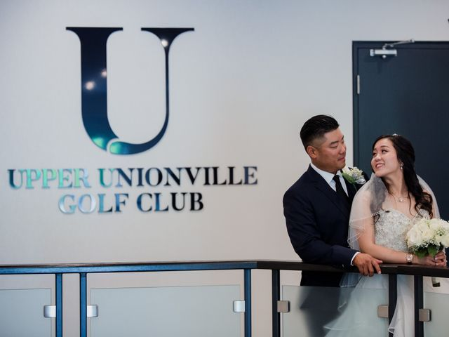 Brian and Val's wedding in Markham, Ontario 1