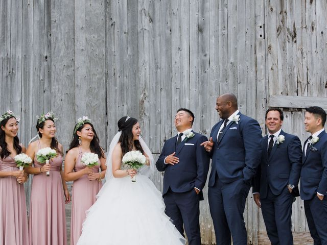 Brian and Val's wedding in Markham, Ontario 30
