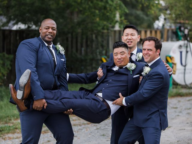 Brian and Val's wedding in Markham, Ontario 31