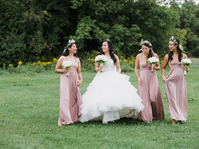 Brian and Val's wedding in Markham, Ontario 32