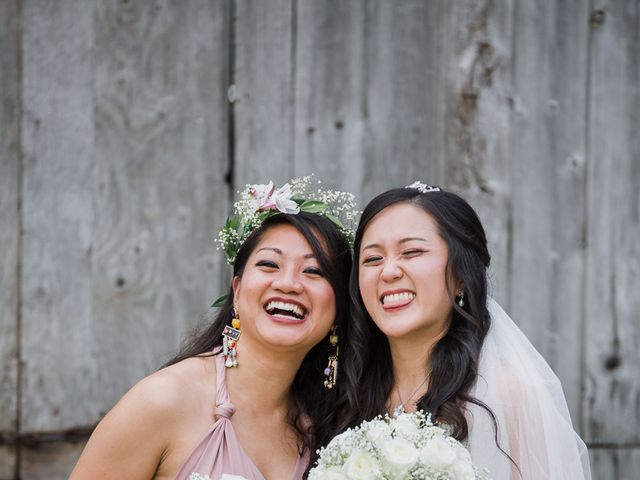 Brian and Val's wedding in Markham, Ontario 34