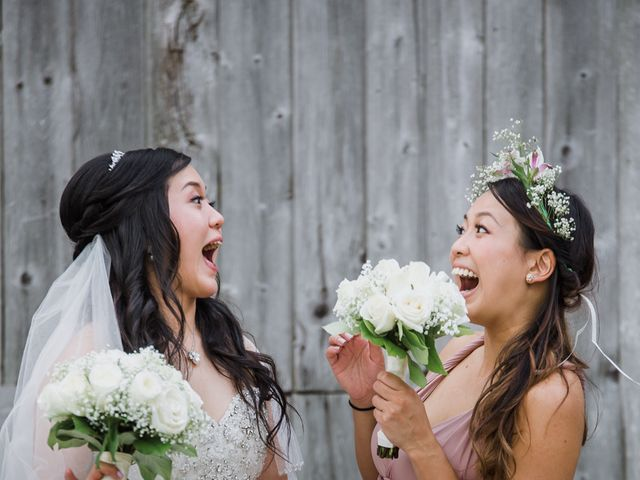Brian and Val's wedding in Markham, Ontario 35