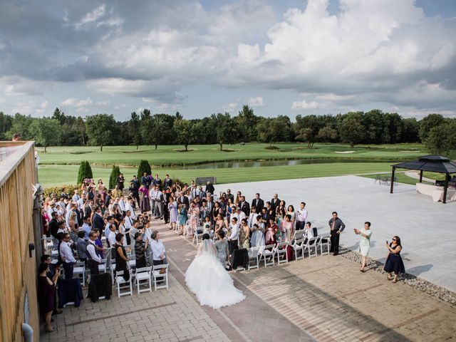 Brian and Val's wedding in Markham, Ontario 39