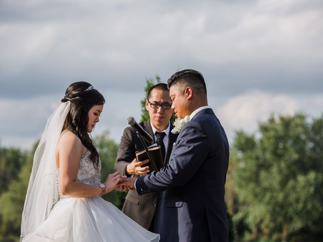 Brian and Val's wedding in Markham, Ontario 43