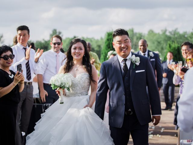 Brian and Val's wedding in Markham, Ontario 44