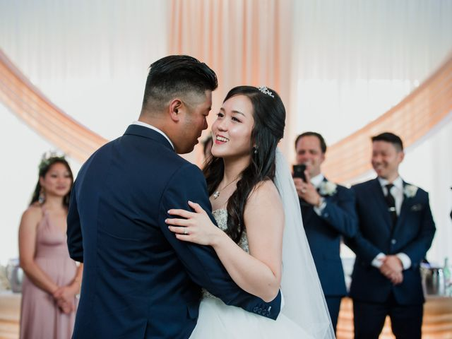 Brian and Val's wedding in Markham, Ontario 49