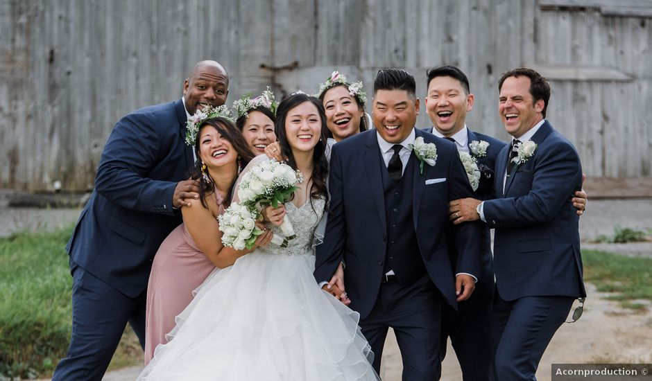 Brian and Val's wedding in Markham, Ontario