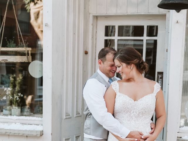 Carly & Cory's Real Wedding By Hello Lovely Ottawa
