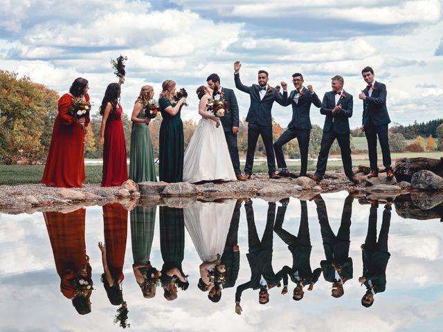 Lorne and Nicole's wedding in Belleville, Ontario 1