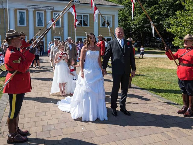 Finn and Michelle's wedding in Langley, British Columbia 1