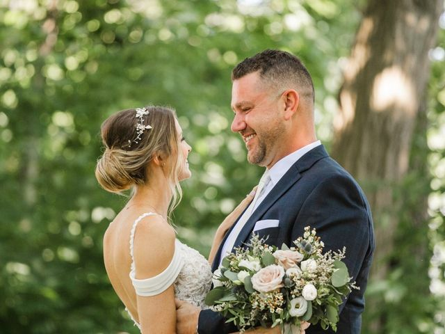 The wedding of Rachel and Dave