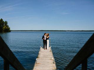 The wedding of Kelsey and Leshya