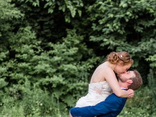 The wedding of Hannah and Mychael 1