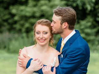 The wedding of Hannah and Mychael 2