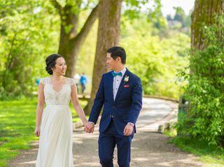 The wedding of Celia and Alvin