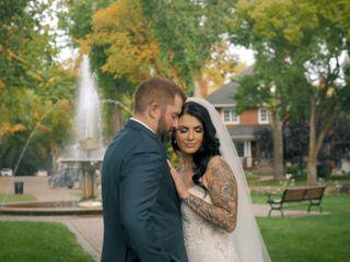 The wedding of Colin and Kayla