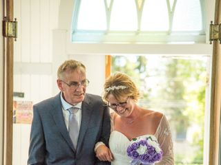 The wedding of Janell and Keith 1