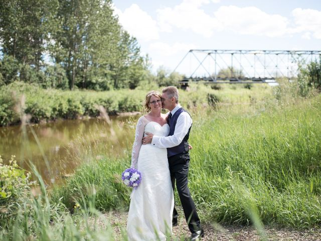 The wedding of Janell and Keith