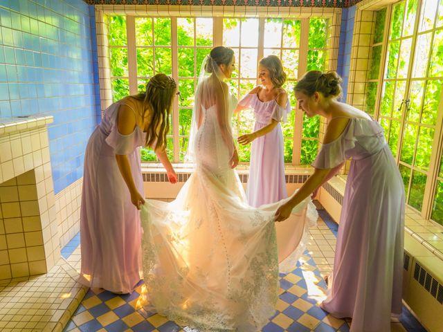 The wedding of Ashley and Nathan