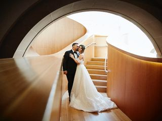 The wedding of Alexandra and Arlindo
