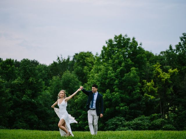 Alex and Taylor's wedding in Meaford, Ontario 37