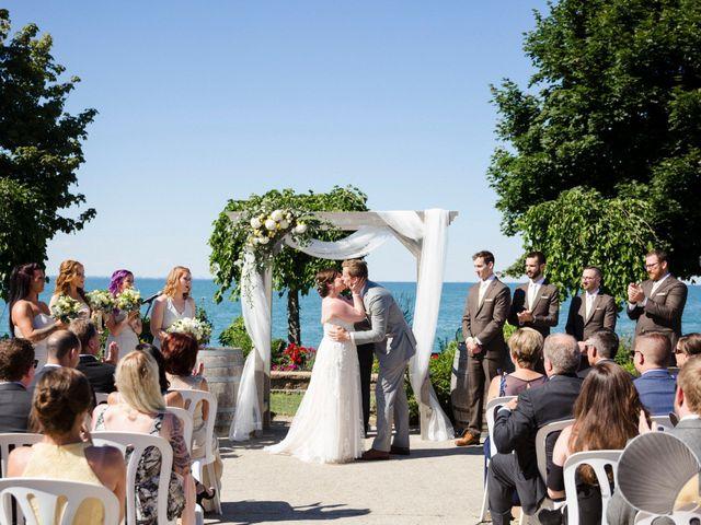 Michael and Courtney's wedding in Hamilton, Ontario 3