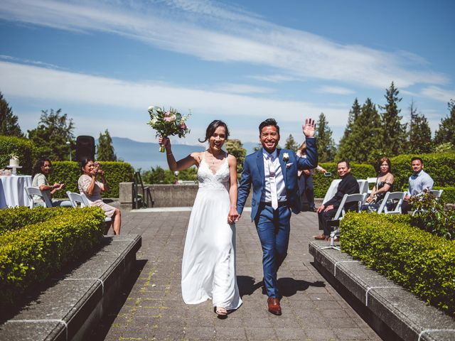 Daryl and Nancy's wedding in Vancouver, British Columbia 2