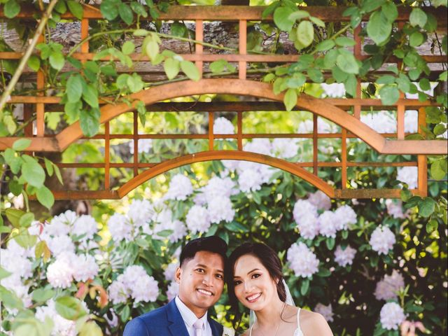 Daryl and Nancy's wedding in Vancouver, British Columbia 3