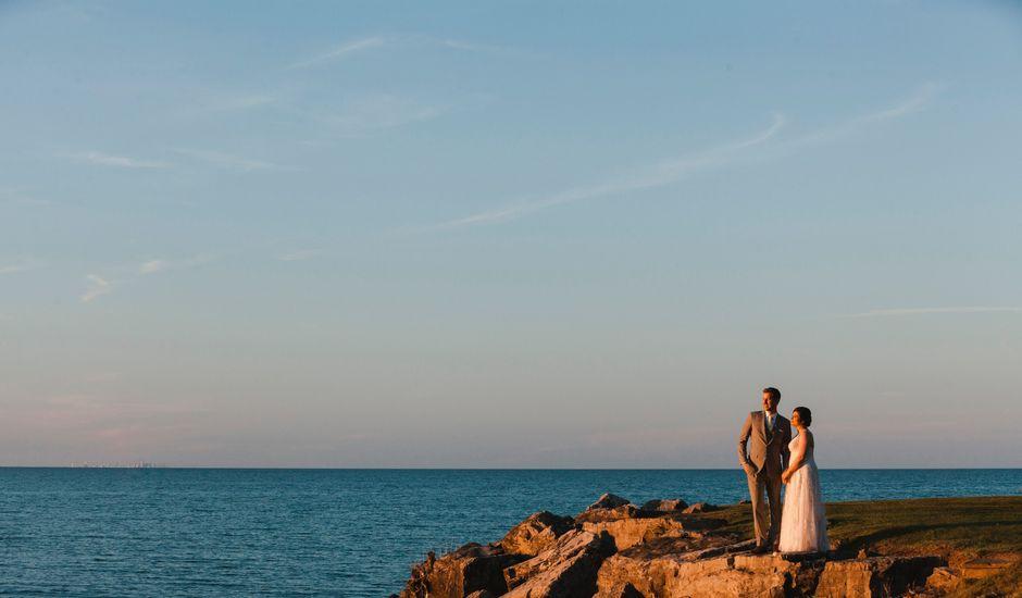Michael and Courtney's wedding in Hamilton, Ontario