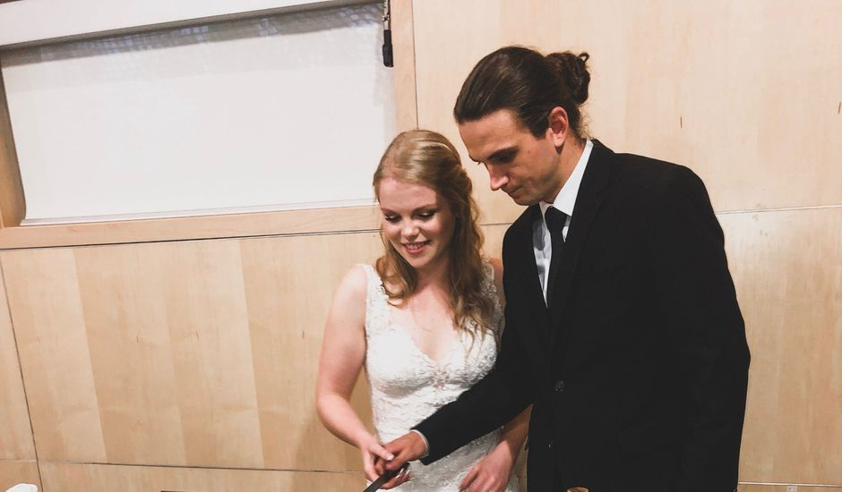 Andrey and Abby's wedding in Edmonton, Alberta