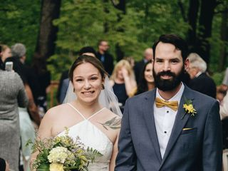 The wedding of Brittany and Jon