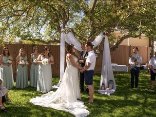 The wedding of Cassandra and Christopher