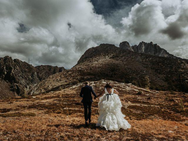 Amanda and Bruce's wedding in Kimberley, British Columbia 3