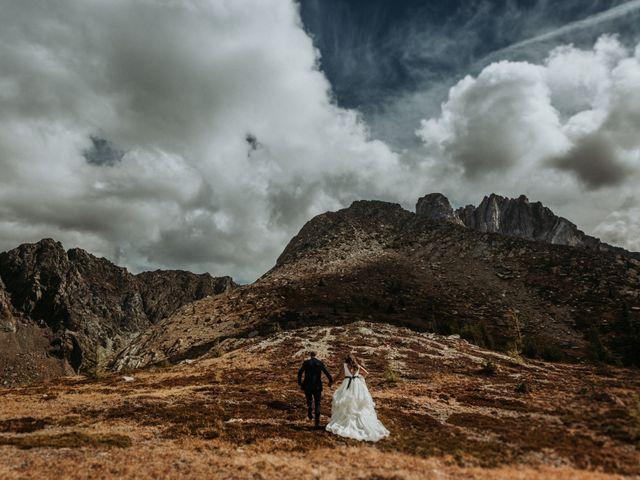 Amanda and Bruce's wedding in Kimberley, British Columbia 4