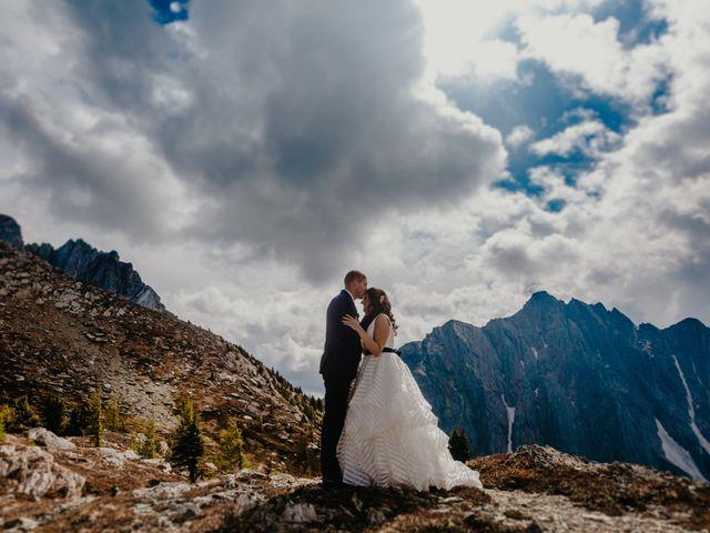 Amanda and Bruce's wedding in Kimberley, British Columbia 7