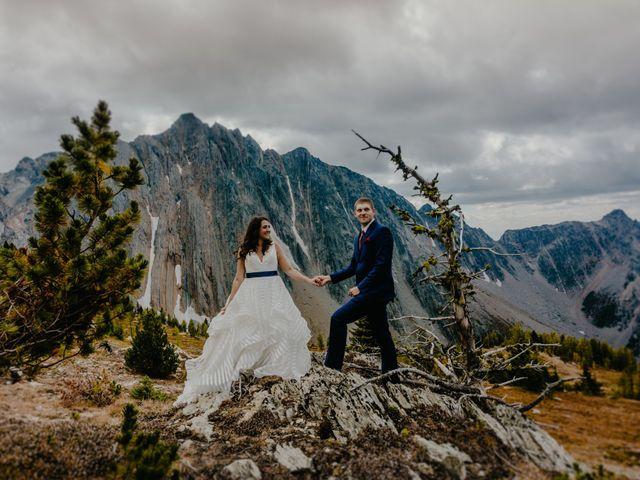 Amanda and Bruce's wedding in Kimberley, British Columbia 8