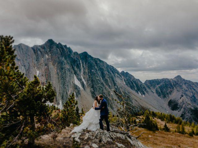 Amanda and Bruce's wedding in Kimberley, British Columbia 9